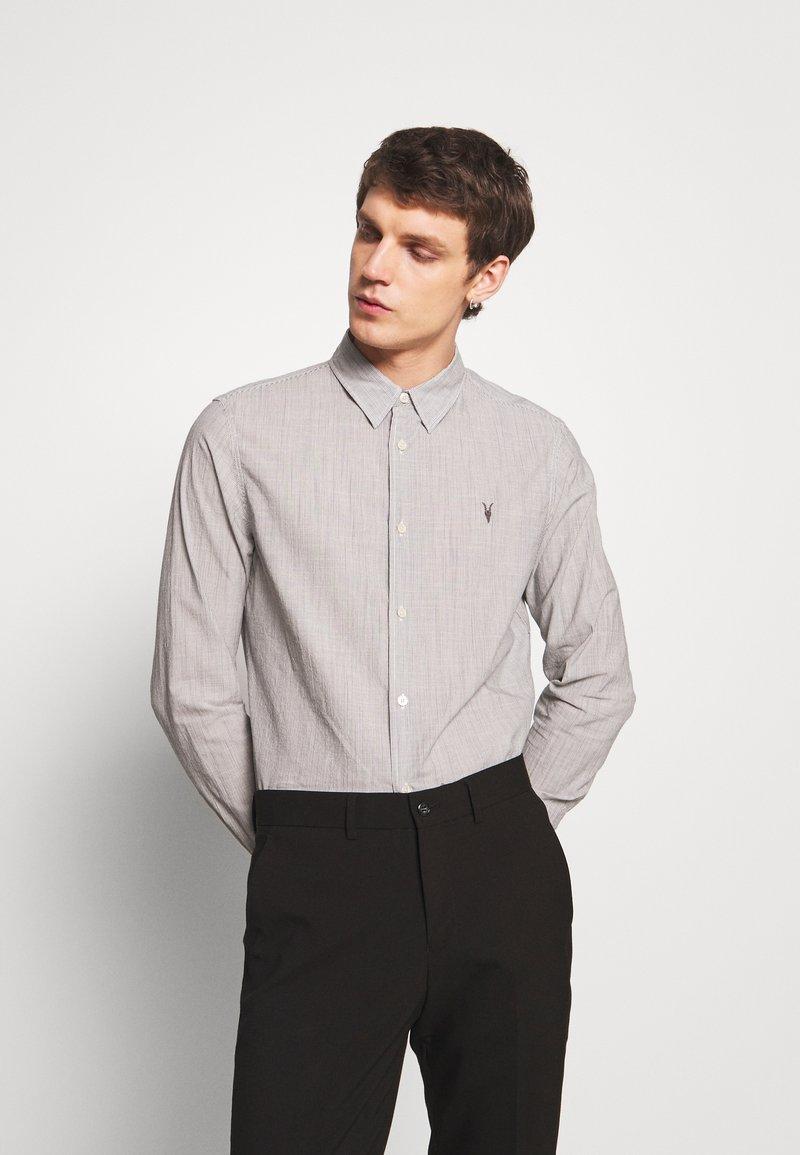 AllSaints - BEDFORD - Košile - white/light grey