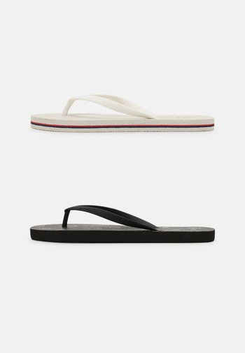 RUBI 2 PACK  - Pool shoes - black/white/off white/red/navy