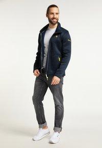 Schmuddelwedda - Training jacket - marine melange - 1