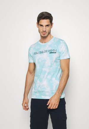 BATIK ALLOVER - T-shirt z nadrukiem - blue