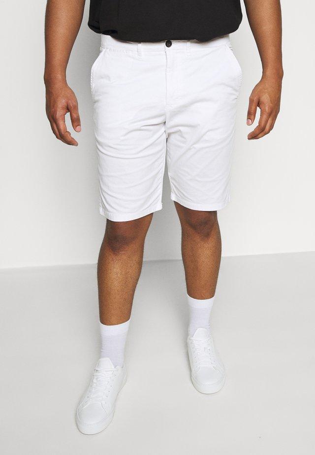 ROSLACK - Shorts - blanc