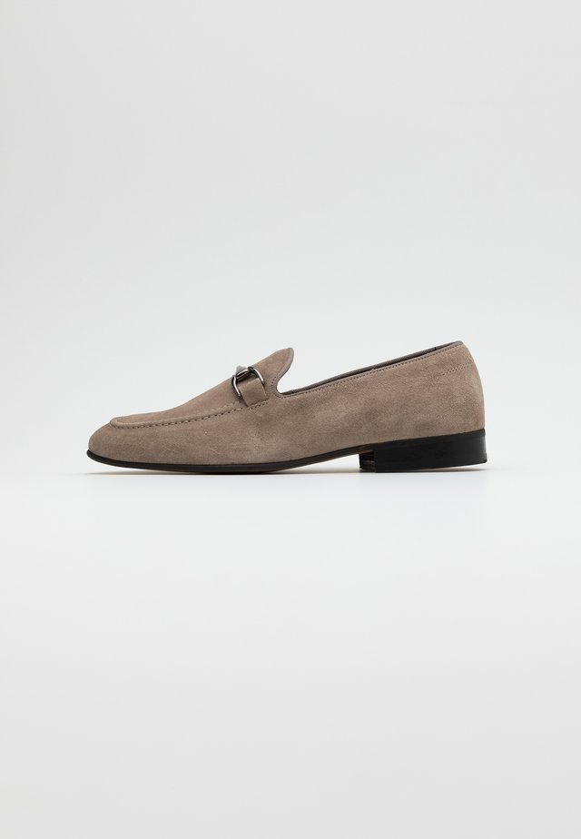 NATHAN - Loafers - grey