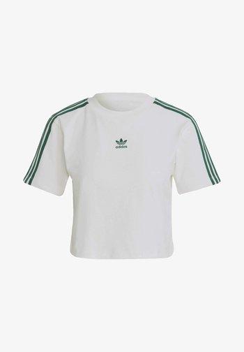 TENNIS LUXE CROPPED ORIGINALS CROP - Print T-shirt - white