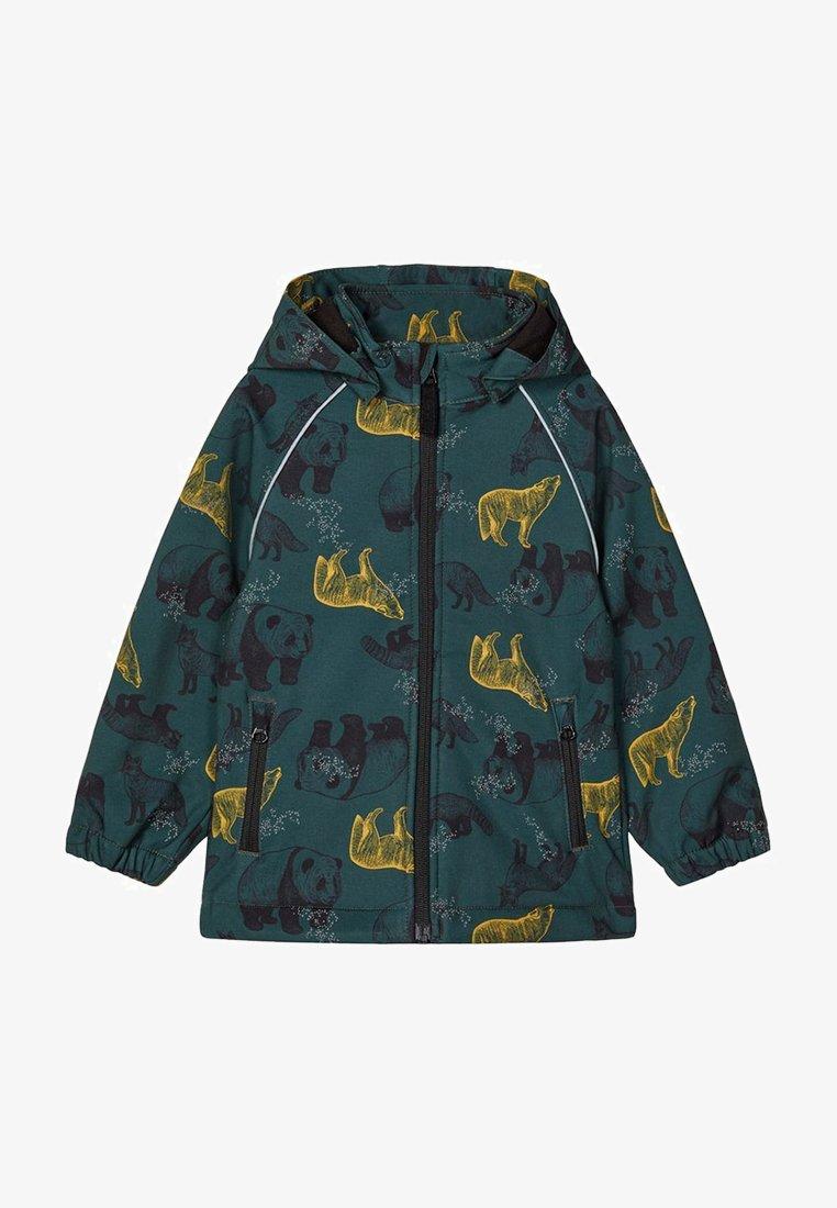 Name it - ALFA PANDA PRINT - Soft shell jacket - darkest spruce