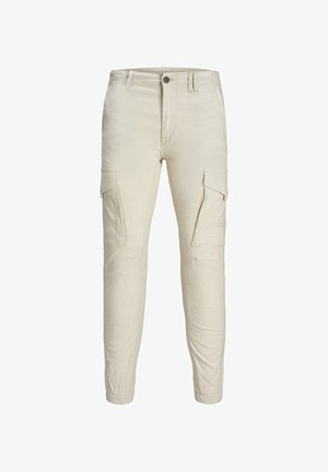 PAUL FLAKE - Pantalon cargo - silver birch