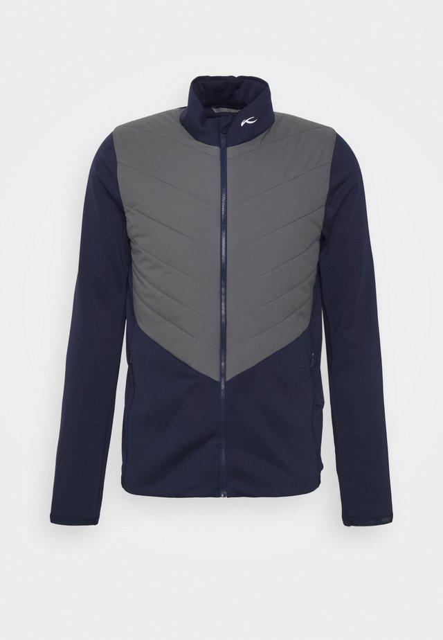 MEN RELEASE JACKET - Sportovní bunda - atalanta blue/steel grey