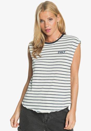 GOOD EYES - Top - snow white kuta stripes