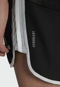 adidas Performance - Marathon 20 SHORT RESPONSE AEROREADY RUNNING REGULAR SHORTS - Träningsshorts - black - 4