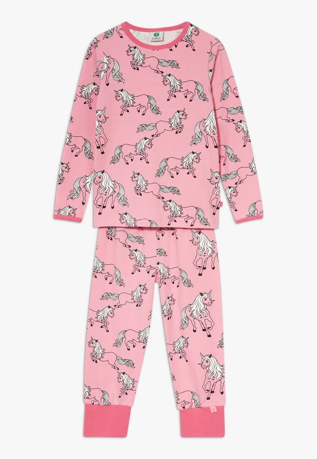 NIGHTWEAR UNICORN SET - Pyjama set - sea pink