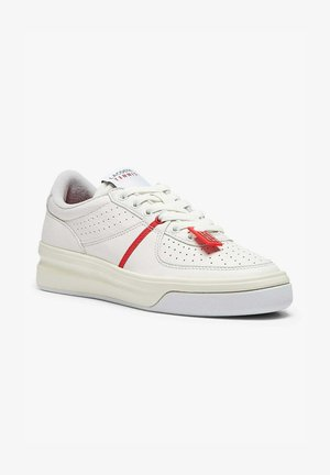Trainers - red/off wht