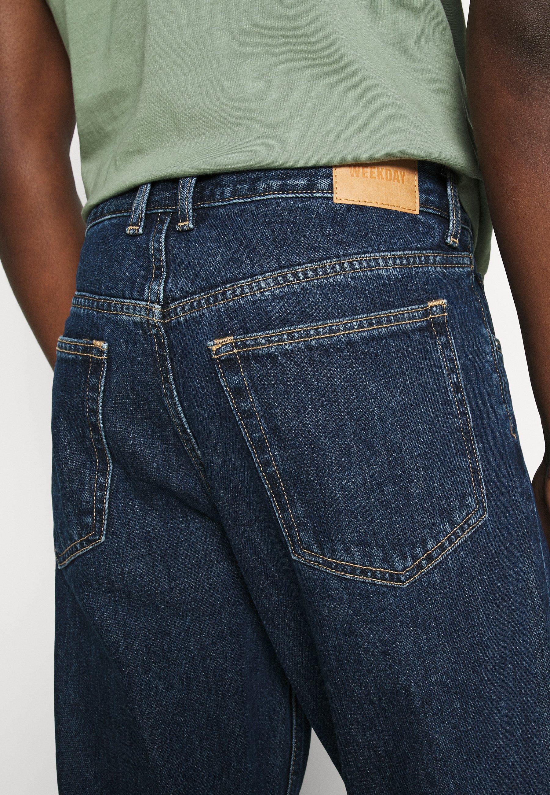 Weekday Barrel Relaxed - Jeans Fit Standard/blå