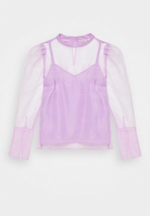 LUNRA BLOUSE - Longsleeve - lavender frost