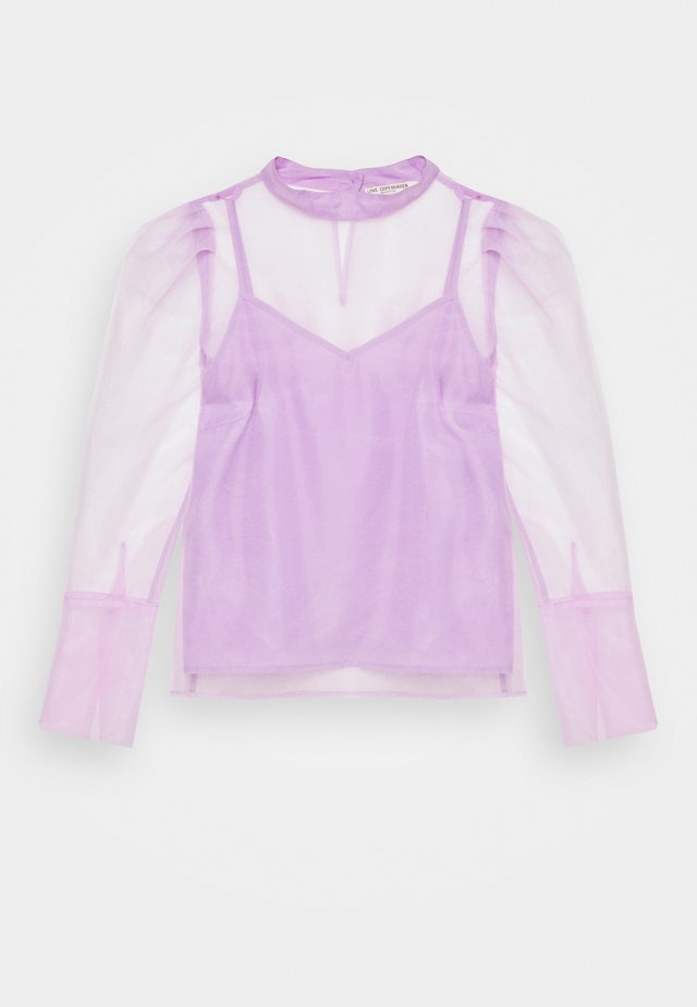 LUNRA BLOUSE - Long sleeved top - lavender frost
