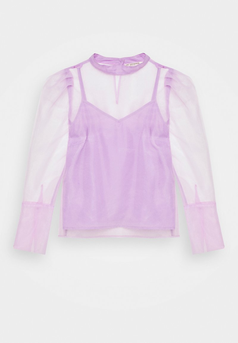 Love Copenhagen - LUNRA BLOUSE - Long sleeved top - lavender frost
