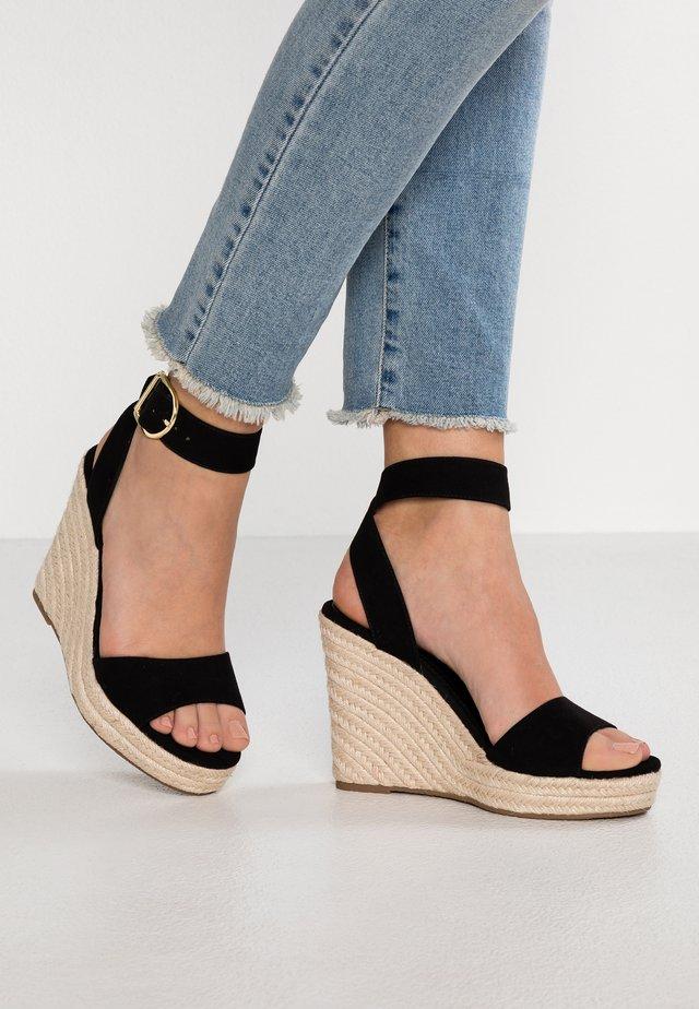 Sandales à talons hauts - black