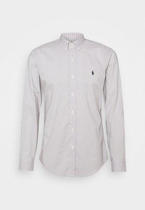 NATURAL - Camisa - grey/white