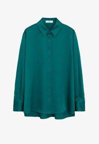 SATINI - Camicia - groen