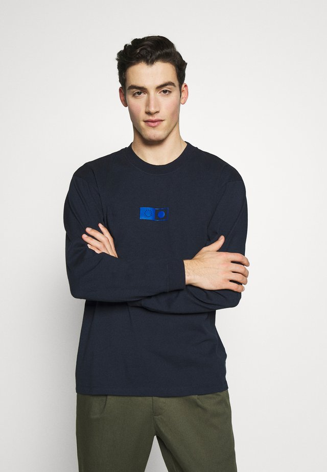 SYNERGY  - Long sleeved top - navy