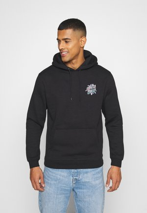 SANTA CRUZ BLOOMED HOODIE UNISEX  - Sweatshirt - black