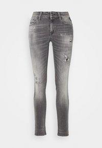 Replay - NEW LUZ - Jeans Skinny Fit - medium grey - 4