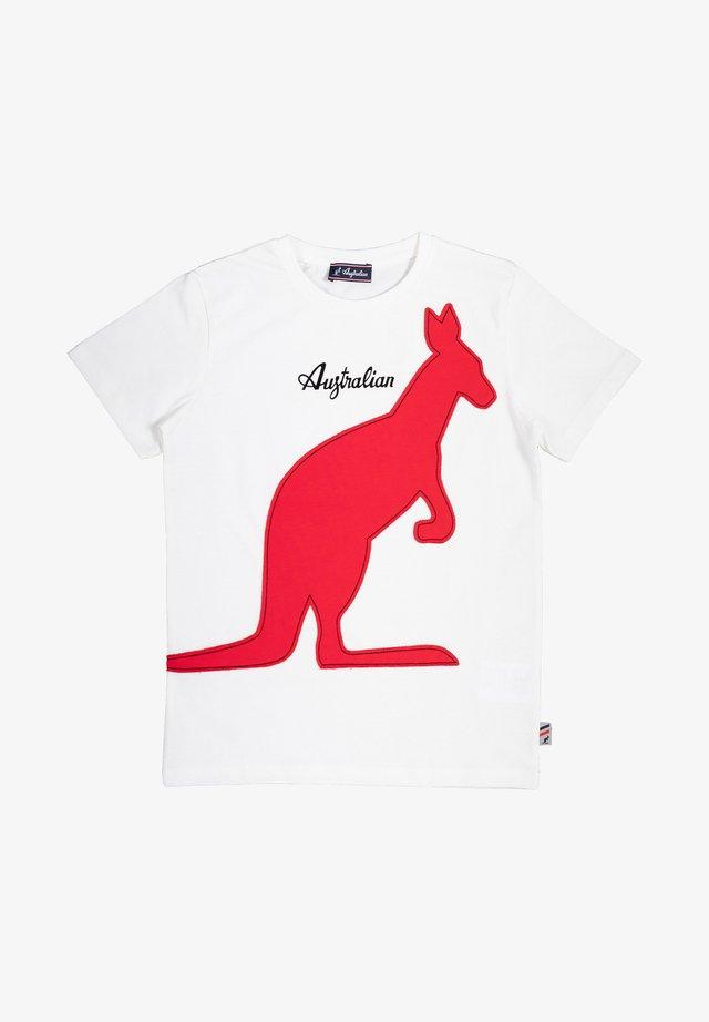 BAMBINO - T-shirt con stampa - latte