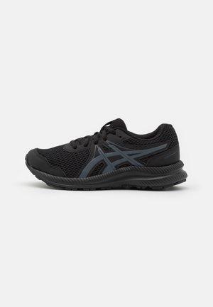 CONTEND 7 UNISEX - Zapatillas de running neutras - black/carrier grey