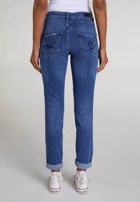 Oui - Slim fit jeans - blue denim - 2