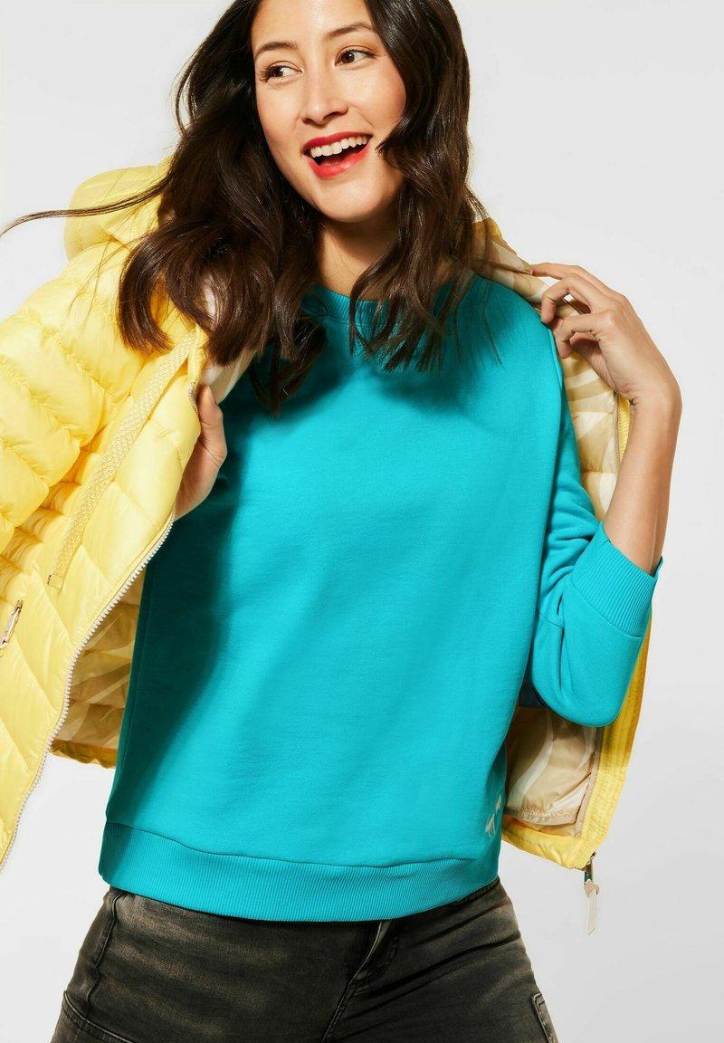 Street One - Sweatshirt - türkis
