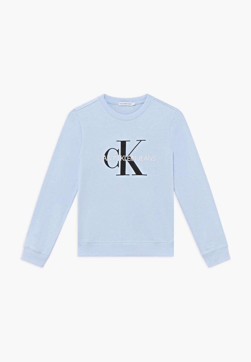 Calvin Klein Jeans - MONOGRAM LOGO UNISEX - Sweatshirt - blue