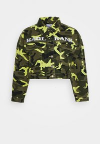 Karl Kani - SHORT CAMO TRUCKER JACKET - Džínová bunda - green - 5