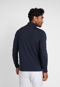 Lacoste Sport - QUARTER ZIP - Sports shirt - navy blue - 2
