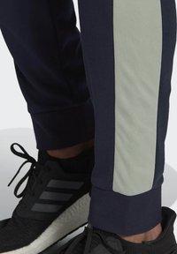 adidas Performance - Cotton TS TRACKSUITS SPORTS TOP:REGULAR-BOTTOM:REGULAR TRACKSUIT - Survêtement - blue - 4