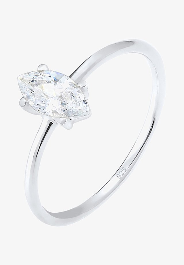 CLASSIC ZIRCONIA - Ringar - silver-coloured