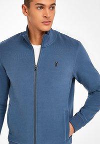 Next - Zip-up sweatshirt - dark blue - 2
