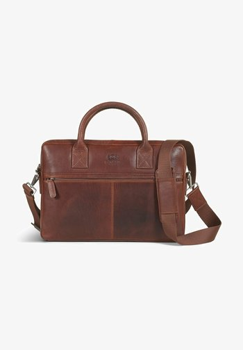 EVAN  - Laptop bag - brown