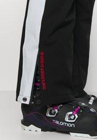 Superdry - ALPINE PANT - Ski- & snowboardbukser - black - 3