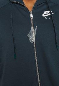 Nike Sportswear - Zip-up hoodie - deep ocean/white - 5