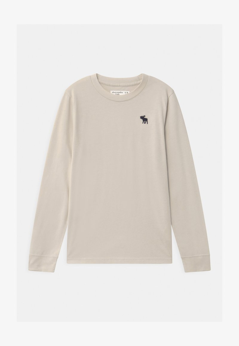Abercrombie & Fitch - BASIC - Long sleeved top - tan