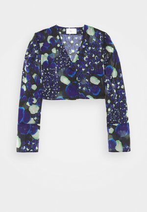 VADA DOT - Blouse - blue/green