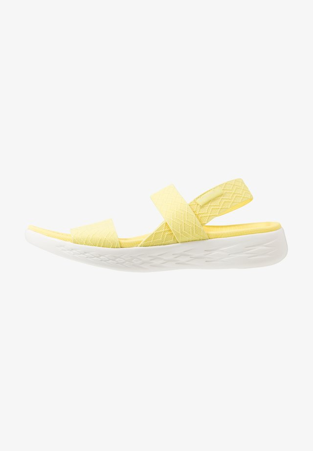 ON-THE-GO 600 - Walking sandals - yellow