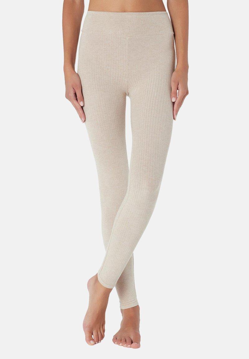 Calzedonia - Leggings - Stockings - nude