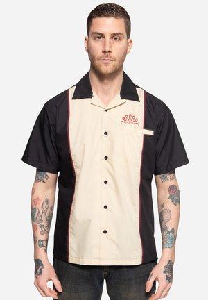 BOWLING - Overhemd - schwarz