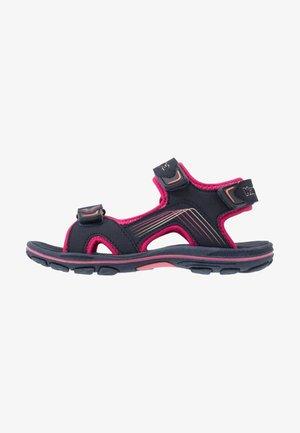 SHIPLAKE - Chodecké sandály - navy/pink