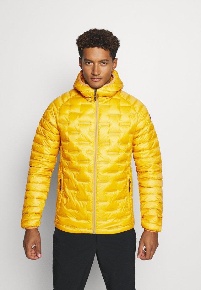 CONVERT JACKET - Down jacket - mustard