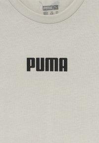 Puma - PUMA X ZALANDO LOGO TEE - Triko spotiskem - silver birch - 3
