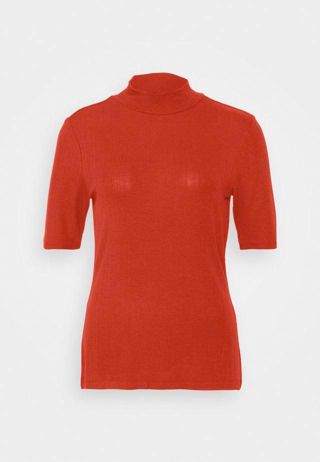 KURZARM - T-Shirt basic - dark red