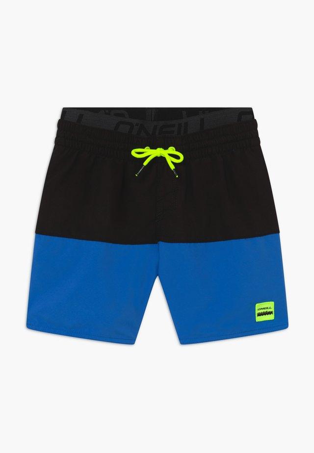 Shorts da mare - black/dark blue