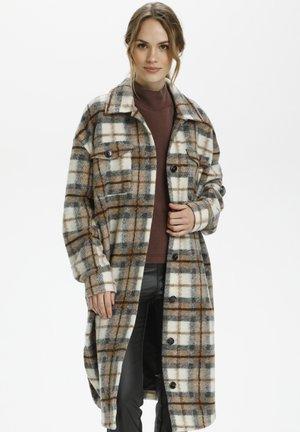 KAHELENA  - Classic coat - grey / amphora check