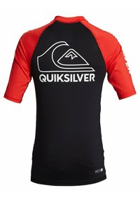 Quiksilver - ON TOUR YOUTH - Rash vest - high risk red - 2