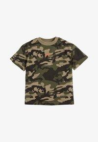 Next - Print T-shirt - khaki - 0